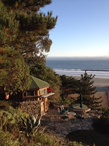 Photo for Dipsea Gardens at Stinson Beach * Ocean View Weddings & Events * Gazebo Glamping