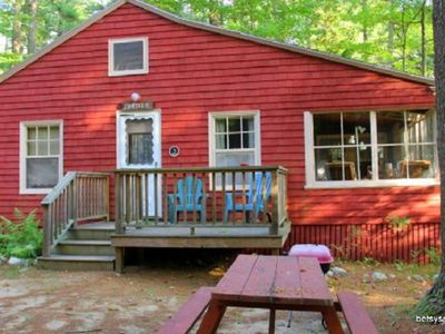 Photo for Pineholm Cottage with Sebago Lake Beach Access