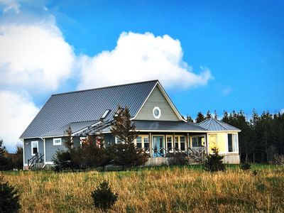 Photo for Beautiful, private, family friendly Beach House on Malpeque Bay.
