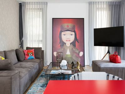 Photo for Stunning boutique apartment