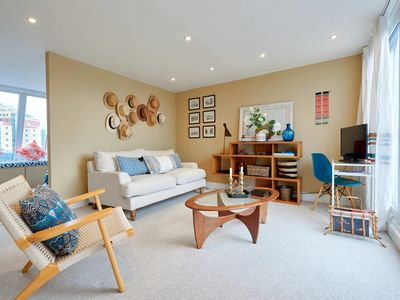 Photo for Designer 1-bed in Fulham 3mins from tube