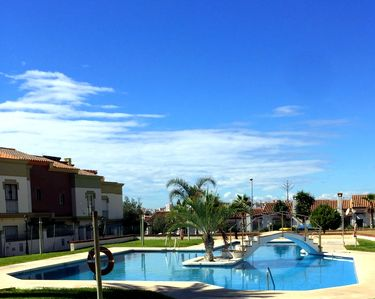 Photo for Large house in Caleta de Velez with sunny garden, pool and near the beach