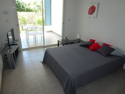 Photo for PRETTY STUDIO with garden close to beach and all internet shops