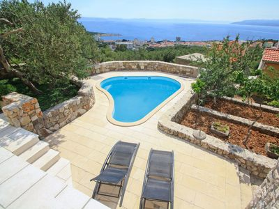 Photo for This 1-bedroom villa for up to 4 guests is located in Makarska and has a private swimming pool, air-