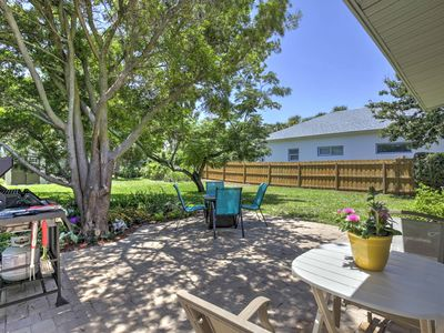 Photo for New Smyrna Beach Home w/ Fire Pit - Walk to Shore!