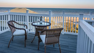 Newly Renovated Oceanfront Condo with direct beach access
