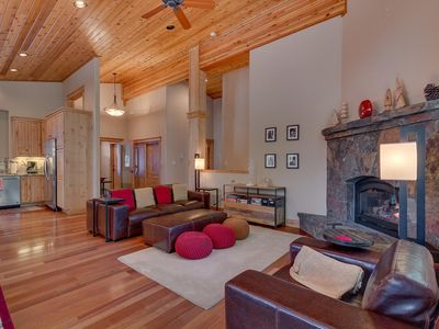 Photo for NEW Skislope - Tahoe Donner 4 BR with Home Theater - 3200 Sqft