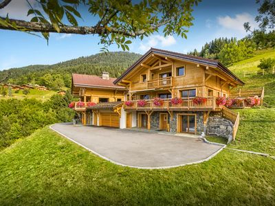 Photo for 5* Relax in the pool or hot tub at this luxury Alpine chalet - OVO Network