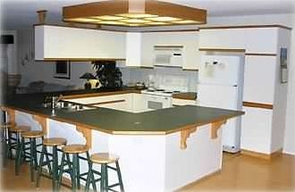 Large spacious kitchen provides lots of counter space!