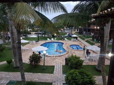 Photo for Geribá Inn aptº charming condo next to Beach p up to 6 people