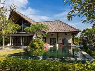 Photo for Luxury beach villa with private pool suitable for up to 10 people