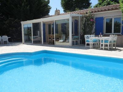 Photo for Detached villa with private swimming pool, enclosed garden and plenty of privacy