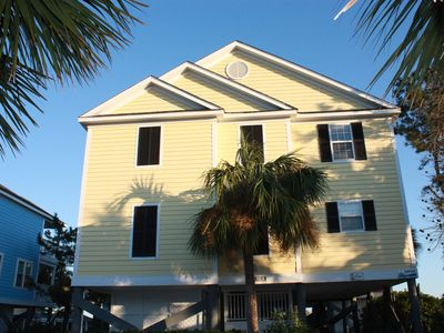 """Photo for Charming 4 Bedroom, 3 Bath in Oceanfront Portofino II - """"A Cool Breeze"""""""