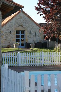 Photo for Old building, with private pool in the heart of a small farmhouse Quercy.