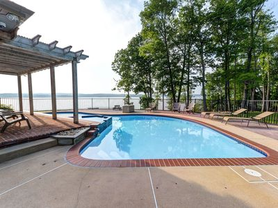 Photo for Perfect For Families!  Beautiful Views, Waterfront, Pool And So Much More!