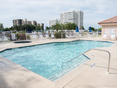 Photo for Spectacular condo at Vanderbilt Beach with heated pool and spa