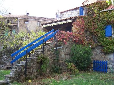 Photo for Natural stone house with character at the foot of the Cevennes