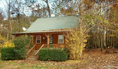 Photo for Jon's Pond on Cosby Creek - 2 Bedrooms, 2 Baths, Sleeps 6