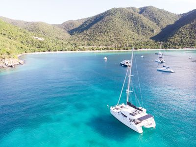 Photo for Island Hopping, All-Inclusive Vacation aboard Luxury Catamaran, Personal Chef