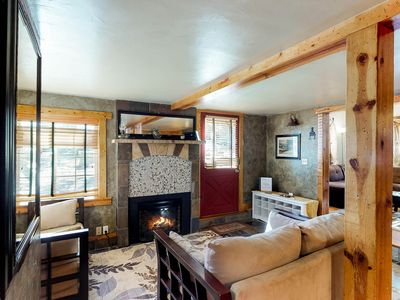 Photo for Cozy comfortable multi-level mtn home- walk to shops/restaurants/attractions