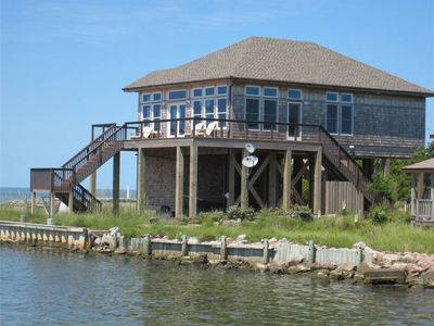 Photo for Hooligan Sunset:  Waterfront deck, sunsets, private boat dock.