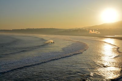 winter sun and swell.