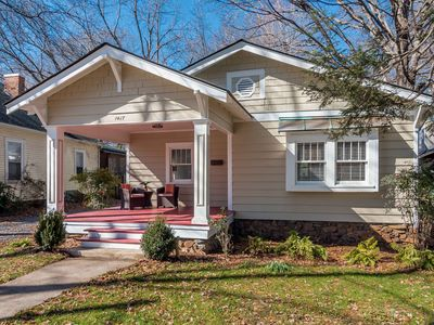 Photo for Best Plaza Midwood Bungalow near Uptown Charlotte!