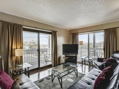Photo for Ocean Block Condo (72nd St) - Walk to Beach & Dining!