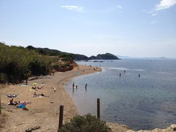La Capte Beach, Hyeres, France