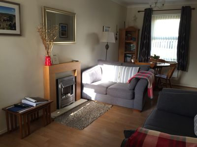 Photo for 2 bedroom children pets welcome enclosed garden easy foot and cycle path access