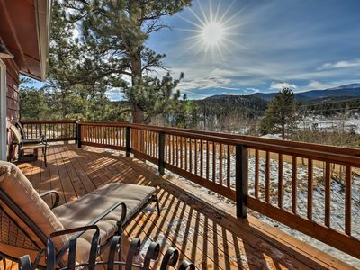 Photo for Bailey Home on a Sunny Meadow w/ Mountain Views!