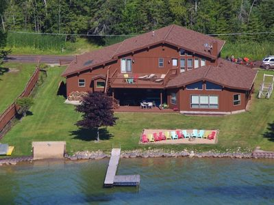 Photo for Hubbard Lake Waterfront Property 4 Bed/4 Bath - 4400 sq ft