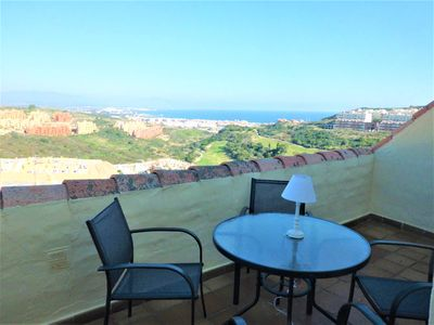 Photo for Superb Puerto de La Duquesa penthouse between Marbella and Gibraltar