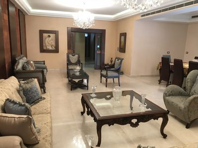 Photo for Luxury & Charming fully furnished New Apartment in Beirut, 2150 sqf