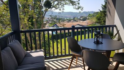 Photo for Beautiful apartment T3 of 63 m2 with nice view on the bay of Txingudi