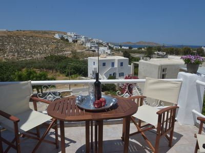 Photo for Great sea view | 3-mins from Naousa | 5-mins from beach