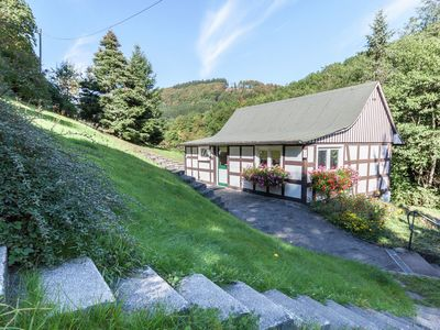 Photo for Small, detached house in the Sauerland bordering on the forest