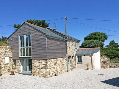 Photo for HAY LOFT, pet friendly, with open fire in Camborne, Ref 959737