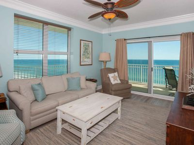 Photo for Gulf-Front w/Private Balcony. 2BR/2BA/Sleeps 6. WiFi/W/D/Free Daily Activities - Crystal Shores 1201