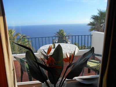 Photo for Tres Palmeiras - Secluded cliff side house close to Funchal (new listing)