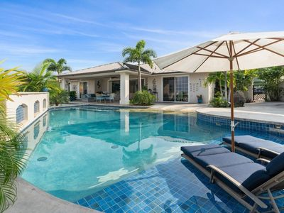 Photo for Kona Bubbles: Pristine Luxury 4 bedroom Home with Amazing Pool & Oceanviews!