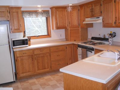 Photo for 4BR Cabin Vacation Rental in Hatley, Wisconsin