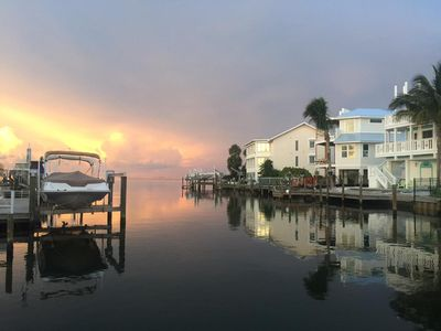 Photo for Anna Maria Island Waterfront house with private boat dock, walk to beach
