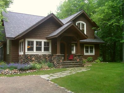 Runamuk Roost - an authentic vintage lake cottage near Hayward, Wisconsin