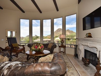 Photo for Troon Luxury Home with Spectacular Views and Private Pool