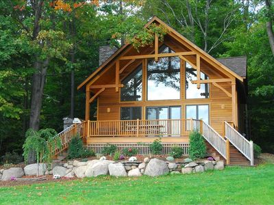Photo for Chalet on 250 acres, Private, 1 Mi from Chautauqua Institution / Lake