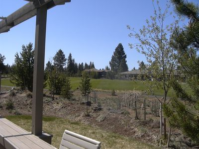 Photo for Golf course view and private hot tub for your enjoyment.