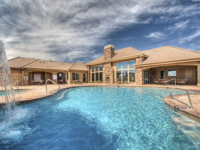 Photo for Modern Luxury -Steps to POOL & GOLF- perfect for ZION,HIKING, BOATING, Sun & FUN
