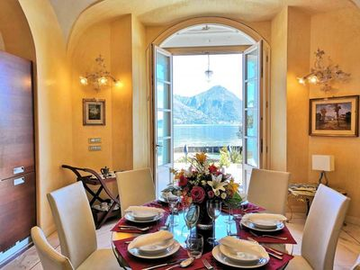 Photo for Tastefully furnished 3-room apartment in a well maintained villa with private lake access