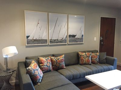 Photo for Gorgeous Newly Renovated 2-Bedroom Condo on Spa Creek Waterfront